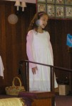 Singing in church