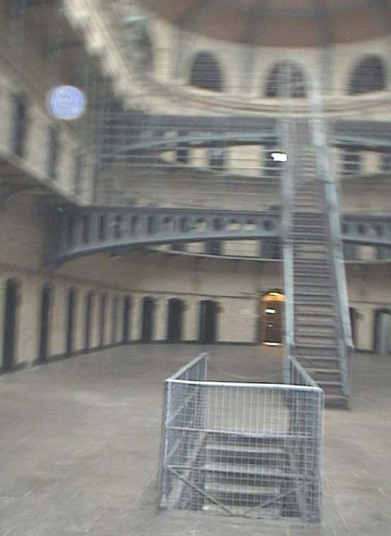 Orb in Kilmainham Jail Museum, Ireland 2002 in friends' gallery photo gallery